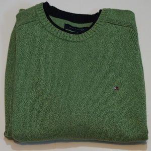 Tommy Hilfiger Men's Flag Sweater Ribbed Neck XL